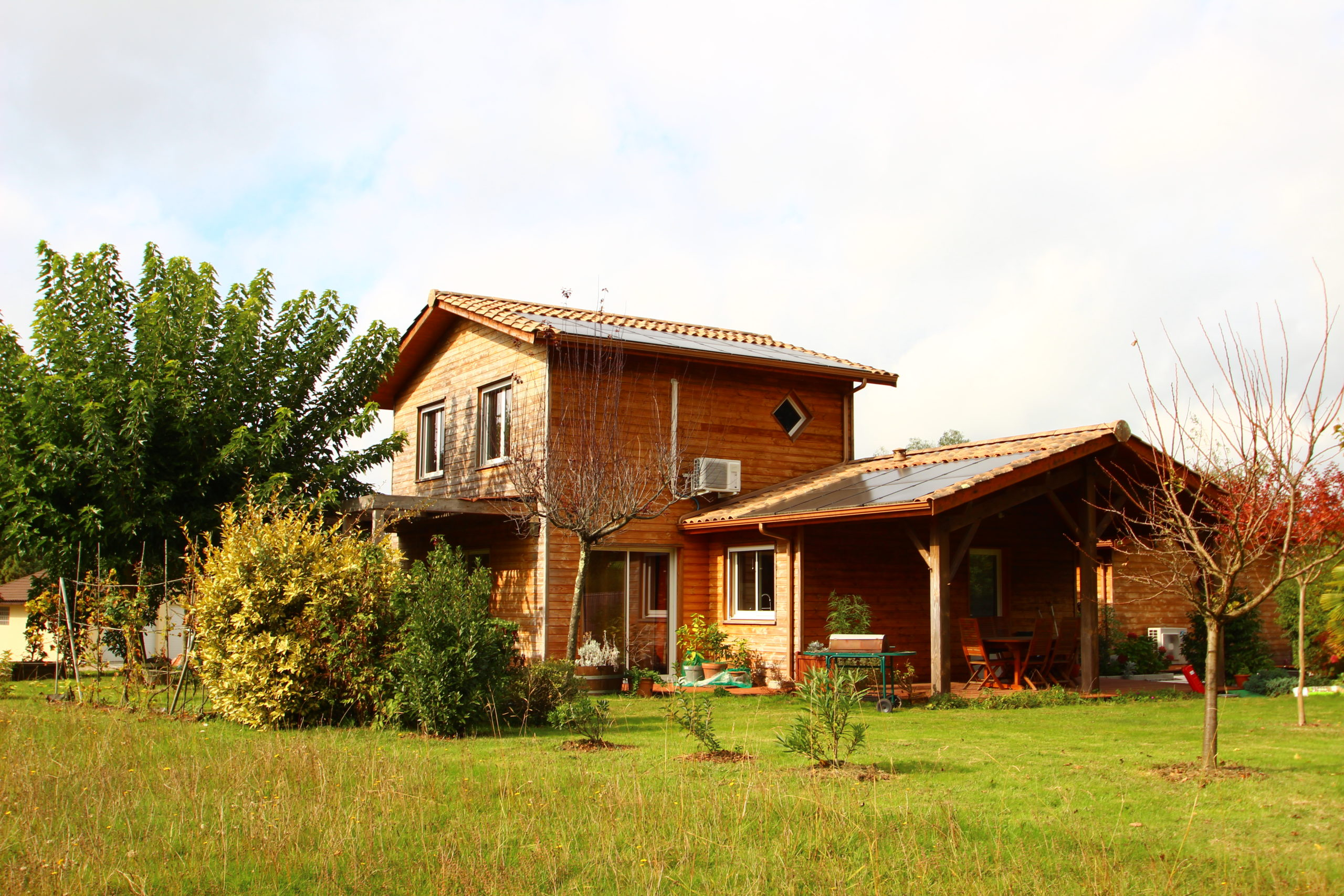 Maison Bois & Bio Climatique – Tresses