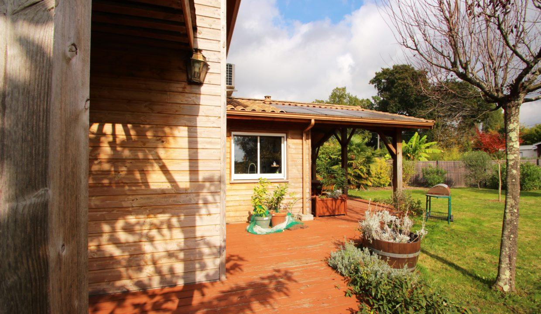 Vend maison économique et bio climatique à Tresses
