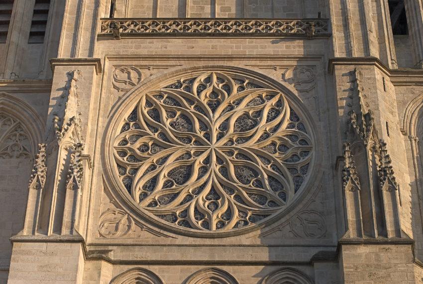 La cathédrale Saint André à Bordeaux