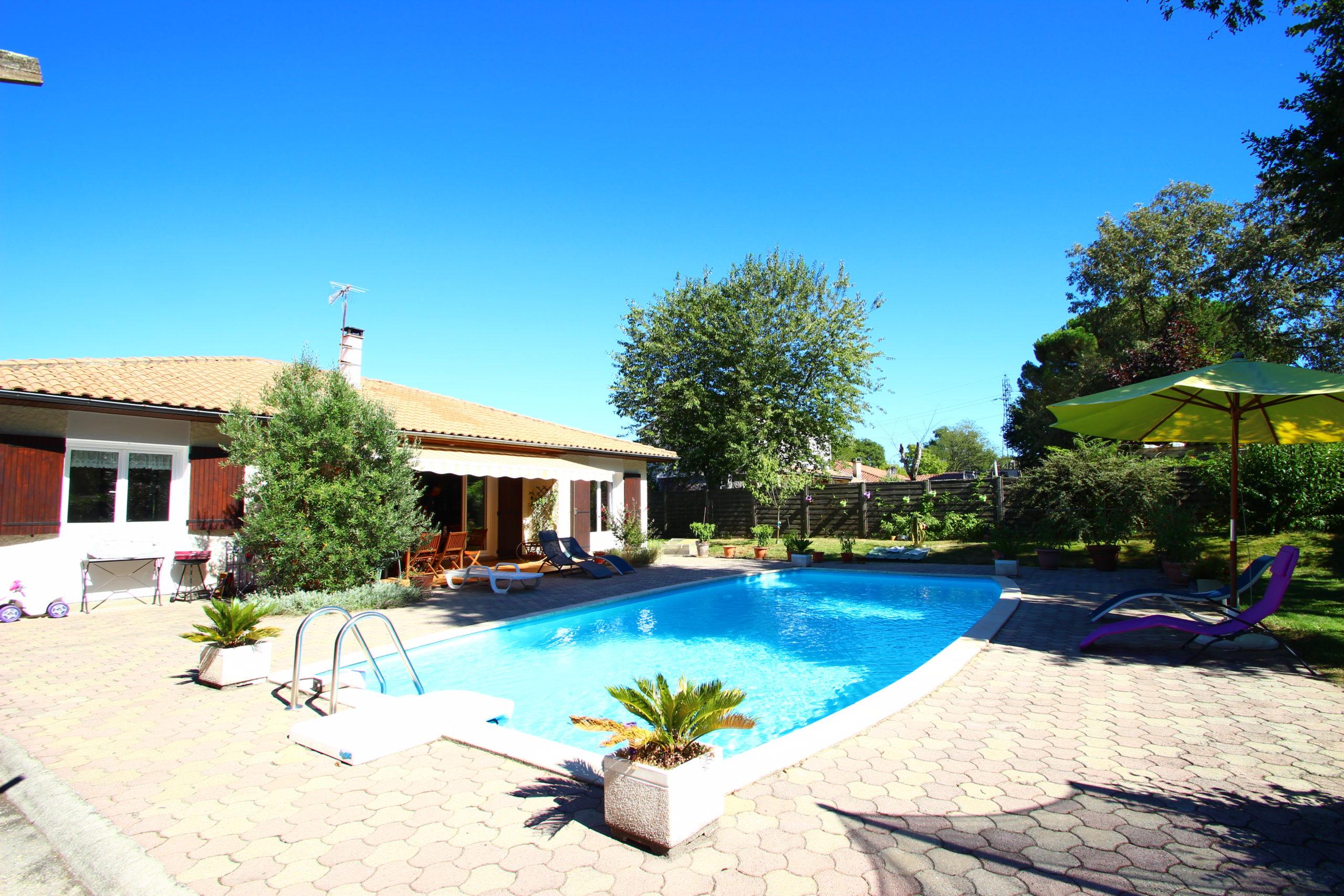 Maison avec Piscine & Jardin – Cestas Gazinet