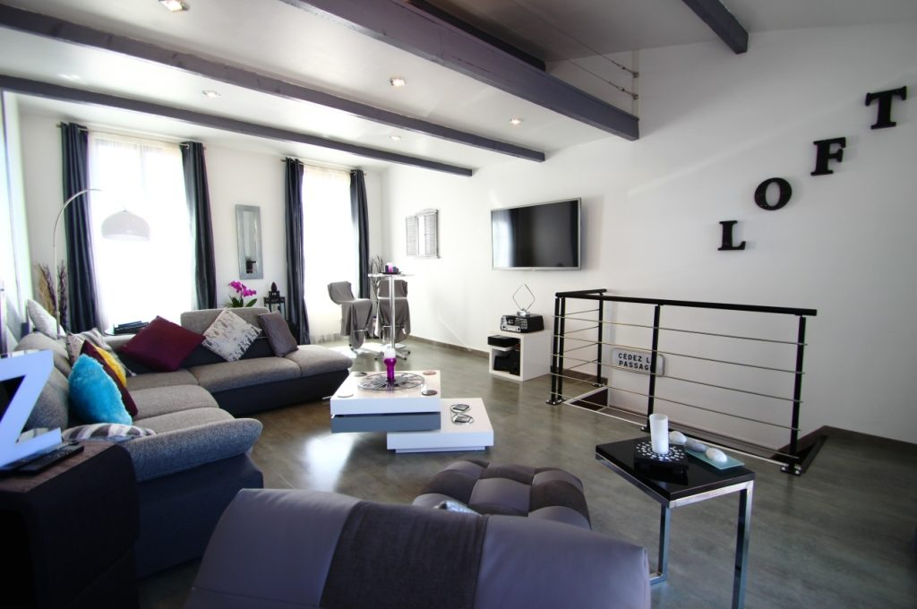 Une très belle décoration pour cette maison à vendre à Bordeaux