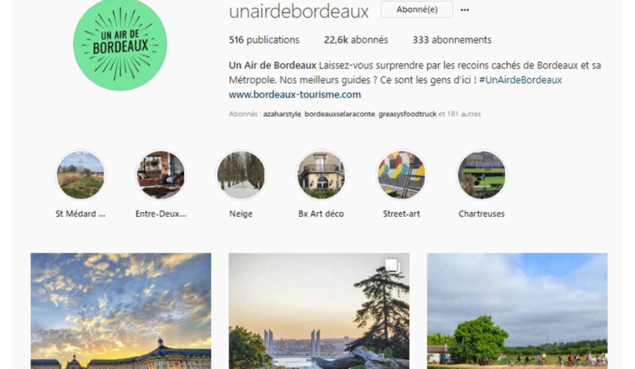 Un air de Bordeaux Instagram